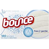 Bounce Sheets, Free & Sensitive, 180 count, (Pack of 3)