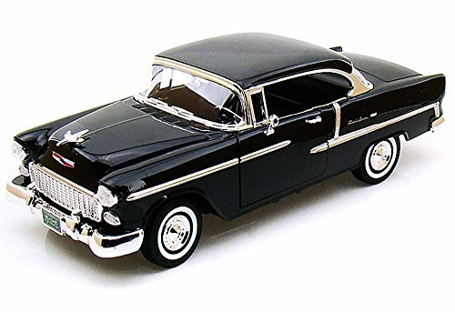 Bel Air Coupe 1/18 Diecast Model Car Black ()