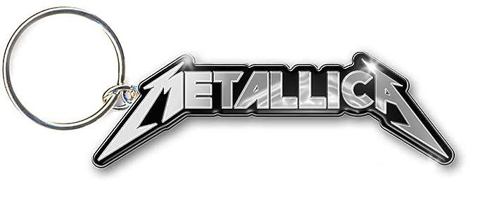 Metallica Logo James Hetfield Lars Ulrich llavero con ...