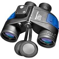 Binocular flotante a prueba de agua BARSKA Deep Sea 7x50 con telémetro interno y brújula