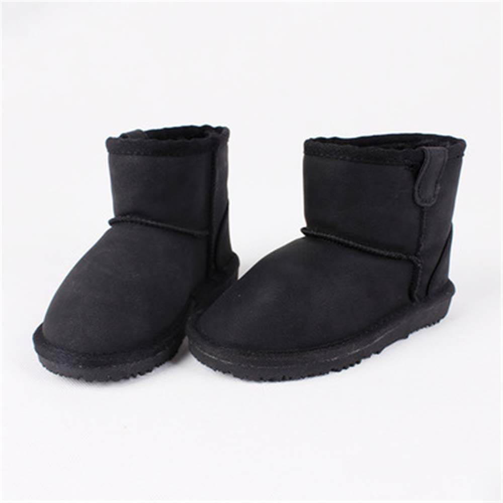 Quality.A Kids Cotton Shoes Warm Booties Girls Outdoor Snow Boots