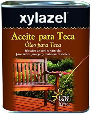 Xylazel - Aceite para teca 4l miel: Amazon.es: Bricolaje y herramientas