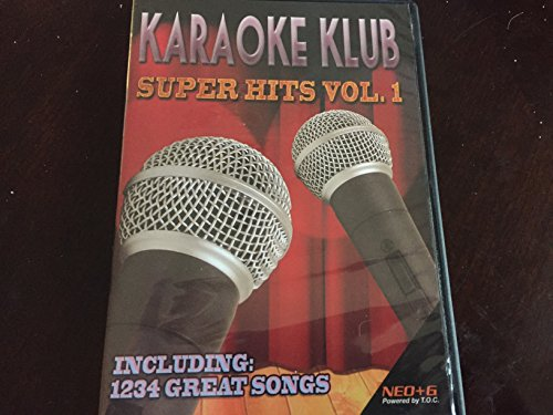 Karaoke Klub NEO+G Disc Super Hits Volume 1 Over 1200 TRACKS!! ** WILL ONLY PLAY ON RSQ NEO+G PLAYERS** ()