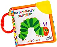 Let's Count Soft Book - World of Eric Carle The Very Hungry Caterpillar Baby Teething Crinkle