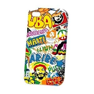 Case Fun Apple iPhone 4 / 4S Case - Vogue Version - 3D Full Wrap - Caribbean