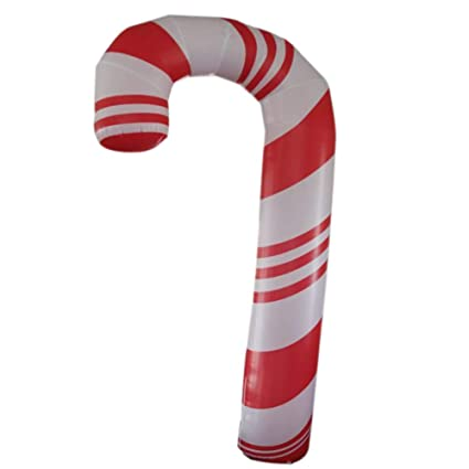 Amazon Com Giant Inflatable Candy Cane Decoration For Christmas