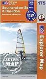 Southend-on-Sea and Basildon (OS Explorer Map Active)