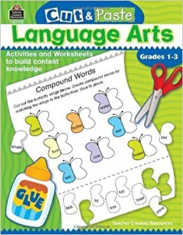 CUT & PASTE Language Arts/ Grades 1-3 by Smith, Jodene [2004]
