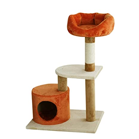 Árboles para gatos Árbol de Gato Activity Activity Condo Lounge Bed Scratching Post, Cat House