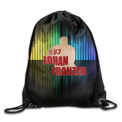 ZOENA Ice Hockey Team No.93 Player Logo Poster Durable Cinch Sackpack Travel Valise Bag