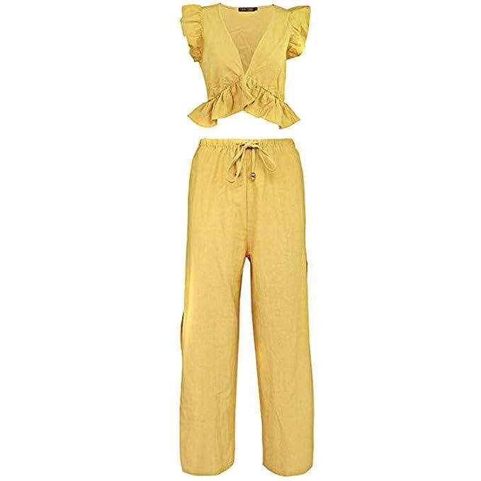 Anchos Mujer ❤️absolute Piezas Pantalones De Conjuntos Verano 2 XOkZuwiTP