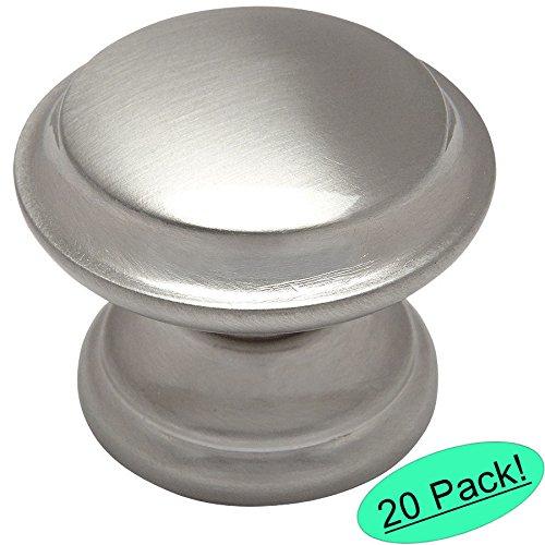Cosmas 4251SN Satin Nickel Cabinet Hardware Round Knob - 1-3/8