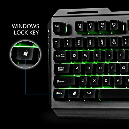zebronics gaming keyboard and mouse