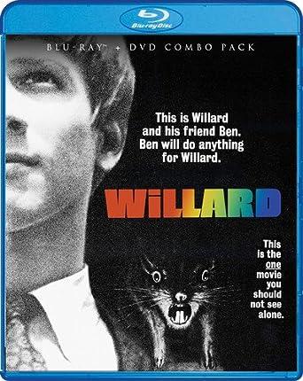 Amazon com: Willard (Bluray/DVD Combo) [Blu-ray]: Bruce