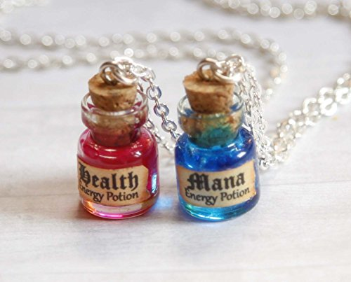 Mana and Health Potion Necklaces