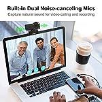 Ausdom USB Computer Webcam OBS Live Streaming Calling & Recording