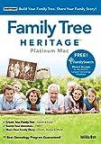 Software : Family Tree Heritage Platinum 9 - Mac