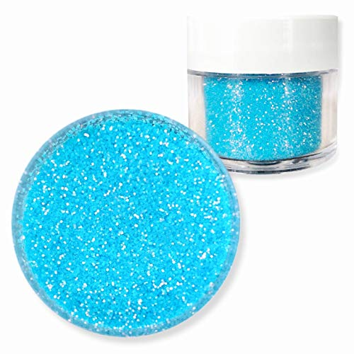 Baby Sky Pastel Blue Dazzler Dust 5g Jar | Bakell Non-Toxic Decorating Glitters & Dusts