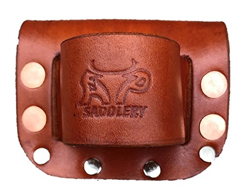 Low-Pro Leather Hammer Holder - Heavy Duty by AP Saddlery