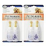 Pet Nurser Bottles Kit, 2.2 oz, 2 Pk (Set of 2 (4 Count))