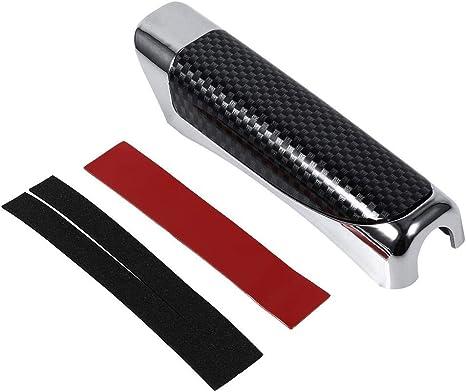 Red Copertura del freno a mano dellautomobile protezione della decorazione Copertura del freno a mano della copertura del freno a mano con gomma appiccicosa