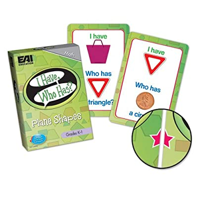 EAI Education I Have, Who Has? Plane Shapes Game: Grades K-1: Toys & Games