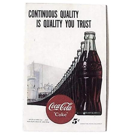 Agilidad una botella de Coca Cola Coleccionable de Art 1 Vintage ...