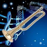 MEXUD Retro B Flat Bugle Trumpet School Band