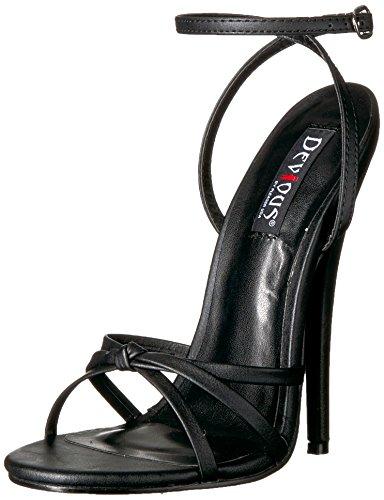 Sandalen Domina-108 Blk Pu