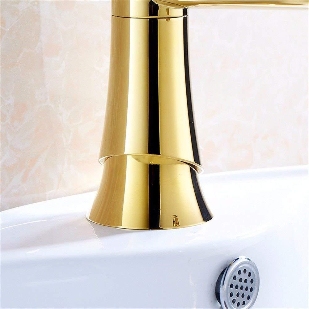 Eeayyygch Küchen Mischbatterie Gold Heißes Und Kaltes Wasser Küchenspüle  Becken Mischbatterie Waschtisch Waschtisch Mischbatterie Waschtisch  Mischbatterie ...