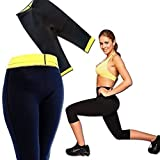 Cherry Ladies Girls Womens Workout Neoprene Sports Pants Trousers Thermo Active Shaper Hot Pants Capri Joging Yoga Gym Fitness Pant Size: