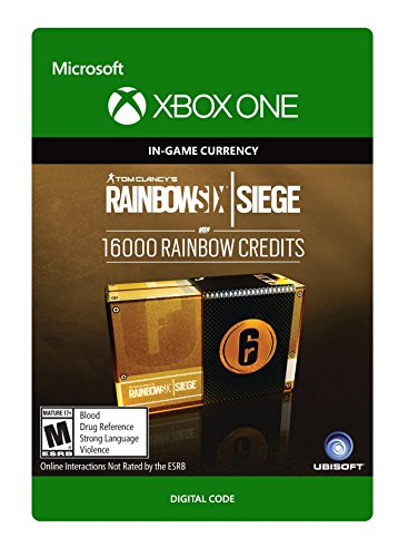 Tom Clancy's Rainbow Six Siege Currency pack 16000 Rainbow credits - Xbox One [Digital Code] by Ubisoft