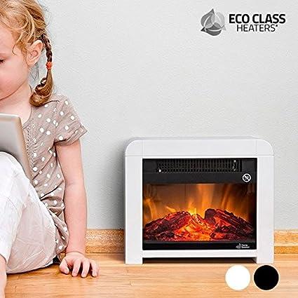 CEXPRESS - Estufa Eléctrica de Mica Eco Class Heaters EF 1200W - Negro