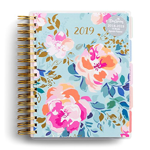 DaySpring 2019 Agenda Planner - Beautiful Floral