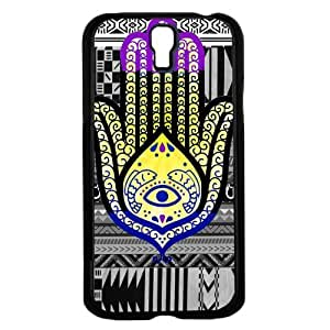 Colorful Evil Eye Hand of Mary Hard Snap on Phone Case (Galaxy s4 sIV)