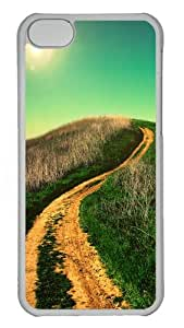 iPhone 5C Cases & Cover - Winding country road Protective PC Case Cover for iPhone 5c - Transparent