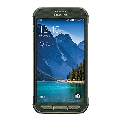 Samsung G870A Galaxy S5 Active for AT&T [Camo Green] by Samsung