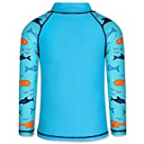 TFJH E Kids Boys Swimsuit UPF 50+ UV Sun Protective