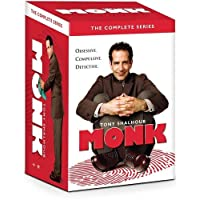 Deals on Monk: The Complete Series DVD Box Set