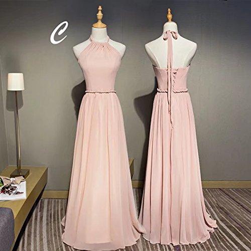 再生君主未知の【ノーブランド品】大きいサイズ 二次会 ピンク ワンピース ロングドレス パーティードレス 全5タイプ 体型カバー 大人 ドレス パーティドレス 結婚式 20代 30代 40代 レディース