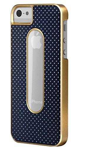 X-Doria Dash Schutzhülle für iPhone 5/5S, Schiefer/bronzefarben