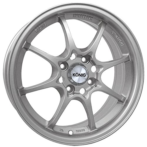 Konig Helium Silver Wheel (15x6.5