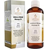 Edible Vanilla Erotic Massage Therapy Oils with Powerful Aphrodisiac & Skin Care Benefits