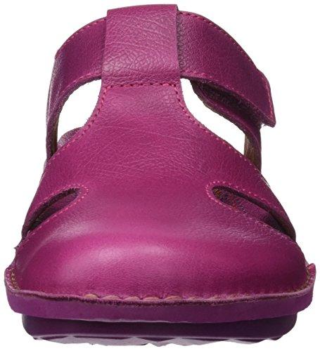 Geschlossene Damen Pink Magenta Memphis Sandalen I Art Explore 1304 fqHHpA