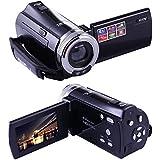 PowerLead Puto PLD003 Mini DV C8 16MP High Definition Digital Video Camcorder DVR 2.7'' TFT LCD 16x Zoom Hd Video Recorder Camera 1280 x 720p Digital Video Camcorder(Black)