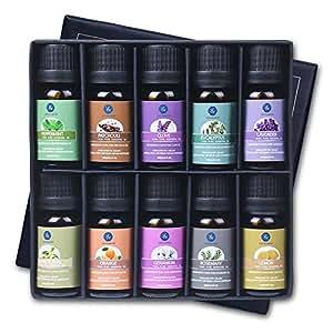 Amazon.com: Lagunamoon Essential Oils Top 10 Gift Set Pure