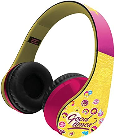 Soy Luna Casco estéreo con Bluetooth (Lexibook BTHP400SL)