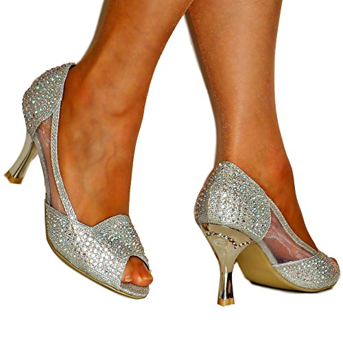 Rock on Styles - Zapatos con tacón mujer