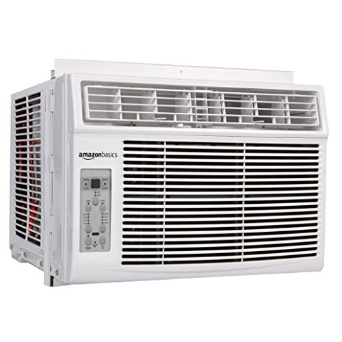 AmazonBasics Window-Mounted Air Conditioner with Remote - Cools 450 Square Feet, 12,000 BTU