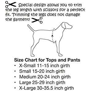 Mozzie Pants MFPTGREY Walking Fleece Dog Pants, Medium